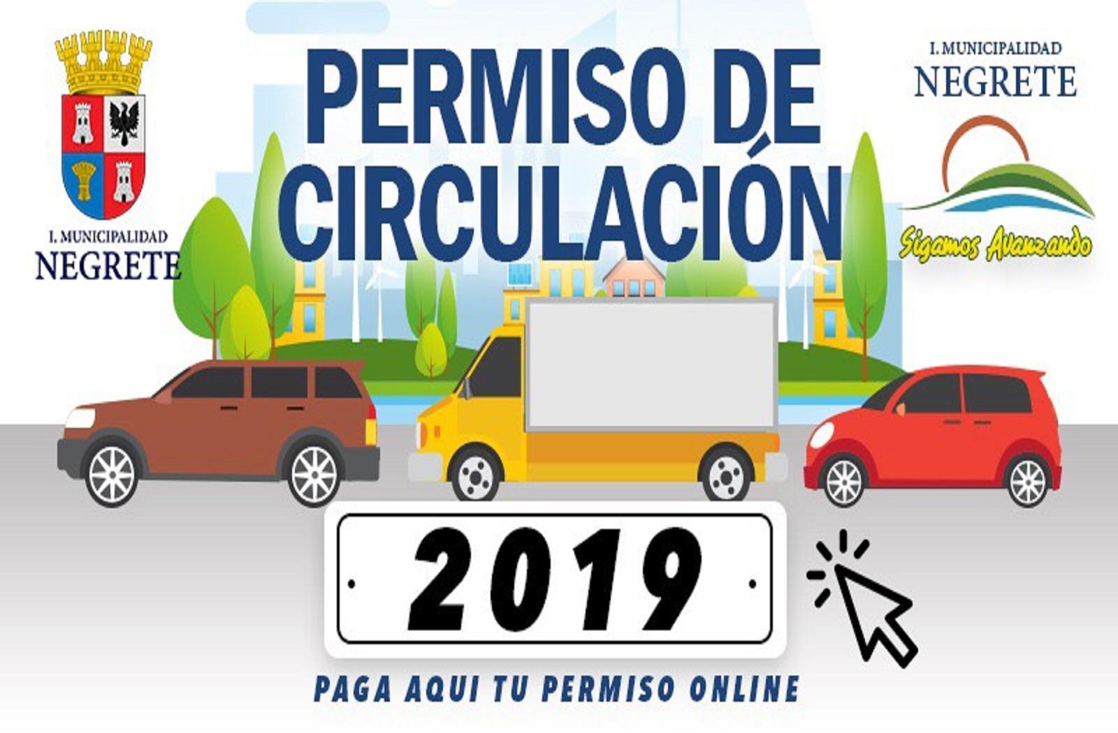 Permiso de circulación 2019